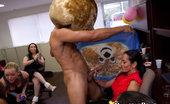 Dancing Bear Horny buisiness woman gets a creamy facial