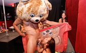 Dancing Bear These girls love a little whipped cream while sucking cock!