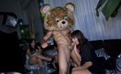 Dancing Bear Cum covered sluts get wild!