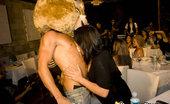 Dancing Bear Hot bachelorette sucking cock
