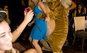 Dancing Bear Hot CFNM party