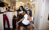 Dancing Bear Horny office girls getting facials