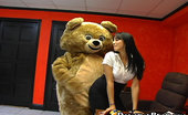 Dancing Bear Cock sucking office sluts