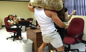 Dancing Bear Girlfirends suck dick at the office