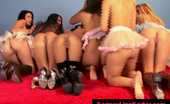 Kagney Linn Karter and friends lesbian group sex party