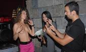 Money Talks mikaela Super hot girl big tits huge ass coverd in snow watch her suck cock and get fuckt