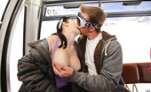 Money Talks sophie Check out these hot ski bunny babes fuck and suck in these hot nude ski lift snow fucking pics