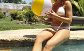 Chanel Preston candid shots in her bikini