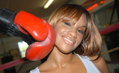 Round And Brown jordan Super sexy brown girls gets slammed in the boxing rink these 2 hot horny young suts are fine