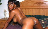 Round And Brown erica Thick brown babe on all fours getting white cock