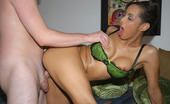 Round And Brown alisha 14 pics of hot black girl all oiled up and getting banged