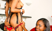 Round And Brown sicily Amzazing ebony babes jewel and her hot juicy girl get double bandged by the pool in these hot sexy pics