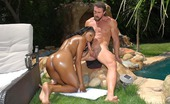 Round And Brown jordin Hot round and brown babe jordin gets her golden body fucked hard in these hard bikini fucking pics