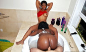 Round And Brown zena 2 bootyfull fucking mega ass black teens get drilled in these hot semi outdoor 3some fucking pics