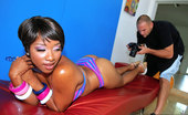 Round And Brown imani Amazing hot model gets drilled hard by the photographer in these hot fuck pics