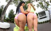 61365 Ass Parade  Rose Monroe & Nikki Delano to all you ass lovers out there! But then again, if you're an ass lover, a real ass lover, these 2 do not need an introduction! Rose has the perfect round booty and tits to