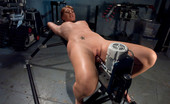 Fucking Machines Amateur girl has full body shaking legs and ass orgasms from hard core machine pounding.