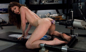 Fucking Machines New girl fucks machines on high, screaming orgasms that leave her breathless. She does anal with the fuck saw and has a huge gaping orgasm.