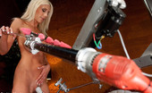 Fucking Machines PUMA SWEDE machine fucked by robots with tongues and drills for hands. Nipples licked by mechanical tongue, pussy fucked by fat cock drill.