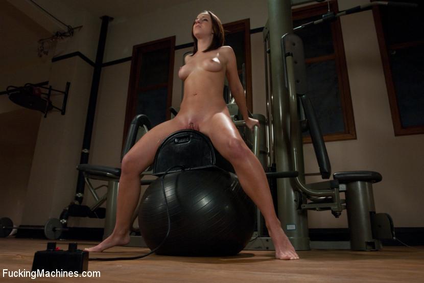 Shaking orgasm machine