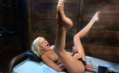 62171 Fucking Machines Blond, tall, MidWestern machine fucked Double Vag, Double Penetration, Face Fucked and Pussy shagged until her whole body shakes.
