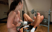 Fucking Machines FuckingMachines.com special update - Fitness Sex - hot recruit sweats & cums while being machine fucked, trained & tested by super sexy fit Ariel X.