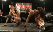 Fucking Machines Squirting, huge cocks, fast machines, ass pounding, girl/girl domination by the biggest names - Annie Cruz, Bobbi Star, Lorelei Lee & Kristina Rose