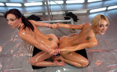 62246 Fucking Machines Hot sexy chemistry, hard core anal stretching & machine fucking, bonus fisting footage, double anal, DP, screaming orgasms & squirting