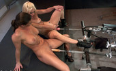 62361 Fucking Machines FEATURE UPDATE - Sex Palooza with hot star Ariel X & ass fucking starlet Holly Hana - pussy & ass fisting, machines pounding, squirting & g/g action!