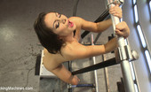 62386 Fucking Machines Maniac fucking & thighs of pure gold - Lea Lexis uses her perfect athlete body to make the fuckingmachines her orgasm bitch! DP, anal, pussy fucking