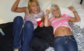 Dare Dorm ali Check out this super hot college bisexual  babes get fucked and licked after a game of topless foosball hot young college babe pics and vids