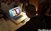 Dare Dorm ali Hot sexy college teen makes cash on her dorm room sex webcam