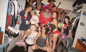Dare Dorm ali Awesome fucking cheetah print college dorm room sex party check out this real amateur action
