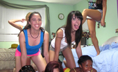 Dare Dorm faye Horny college girls have a sexy sleep over and record them self fucking each other at the dorm room
