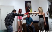 Dare Dorm contessa Hot sexy dorm room action