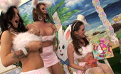 Tory Lane,Jenna Presley,Alexis Texas,Tori Black,Breanne Benson Breanne Benson gets group sex from her Easter bunnies