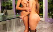 Breanne Benson,Aleksa Nicole Breanne Benson eats pussy and gets lesbian loving