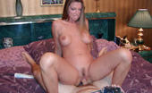 Big Naturals jesse Tight snatch penetrated and having her huge tits cummed on