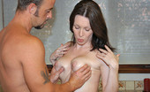 Big Naturals rayveness This babe and her big tits get creamed on in these hot pictures