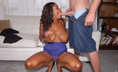Big Naturals dolce 63336 Extreme big titty black babe dolce shows her sucking skills then gets her wet bikini black box rammed hard in these white cock black pussy fuck pics