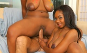 Big Naturals babycakes Check out this hot big titty 3some of black asses and pussy getting fucked after some fun painting eachother