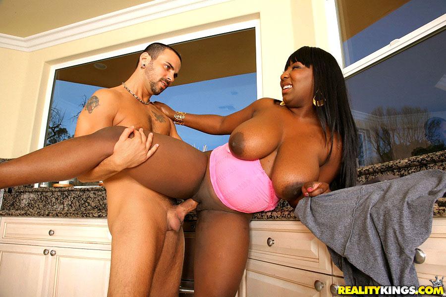 Black Girl Eats White Girl