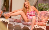 Alison angel big boobs and pink dress