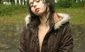 Teen Ariel in the rain!
