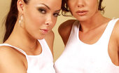 Crissy Moran Two Brunettes Being Naughty
