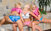 We Live Together lacey Chk out these 3some lesbian sex pics in this body paint sex special