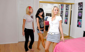 We Live Together kenzi Amazing kenzi and her hot girlfriends get together for some cloth fitting in these hot pussy munchin pics