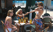 We Live Together charlotte Fun at the beach turns into hot lesbo threesome