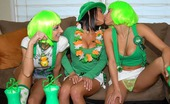 We Live Together devi Horny lesbian babes celbrate st pattys day with wigs and dildo fucking in thes amazing pics
