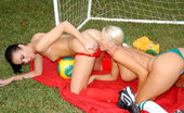 We Live Together tiffani 67282 Amazing hot fucking lesbian soccer players get fucked hard after a game in these hot strap on fucking dildo fucking pics